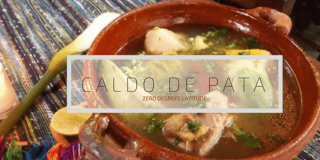 CALDO DE PATA