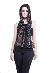 Athena Hooded Blouse