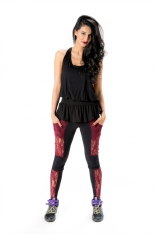 Bamboo MotoX Pocket Leggings